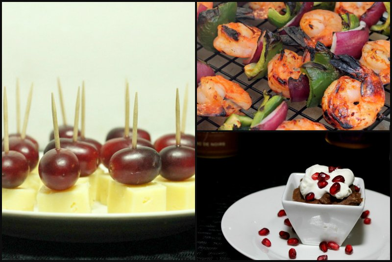 Easy Party Menu Appetizer and Dessert Ideas