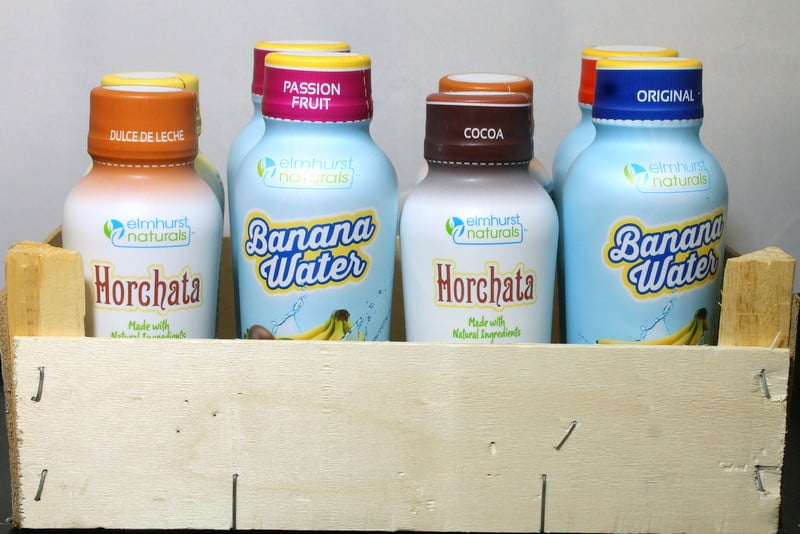 Elmhurst Naturals Banana Water and Horchata Review