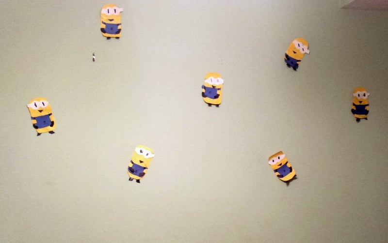 Handmade Minions Decor by crafty daughter