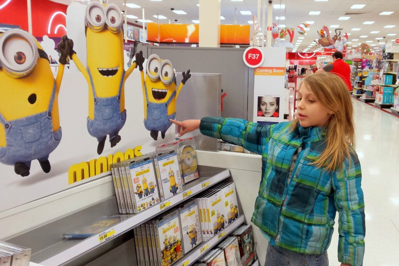 MinionsMovieNight Display 2 at Target