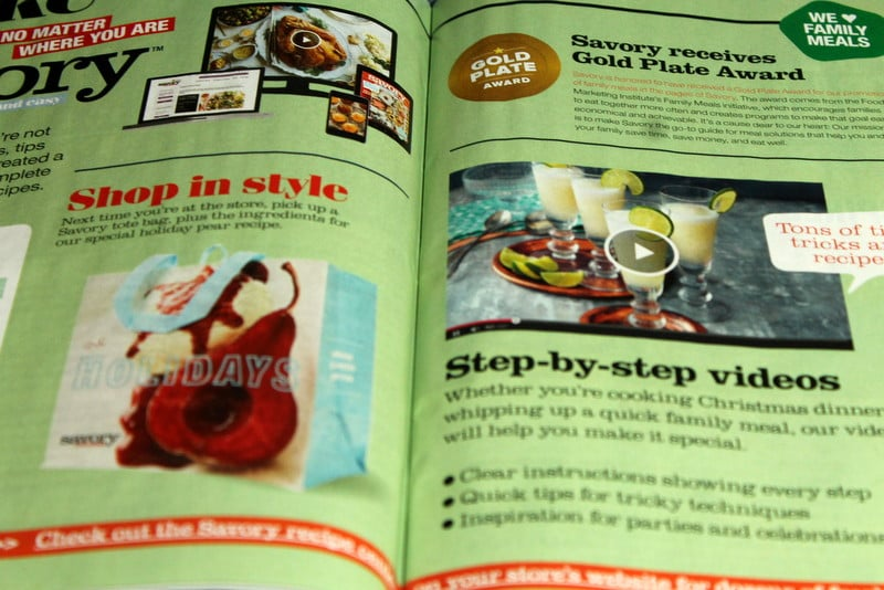 Savory Magazine Giant Food Store's Guide to easy homemade recipes and entertaining