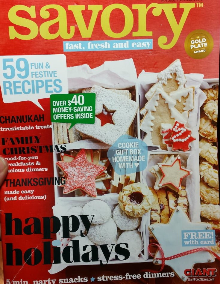 Savory Magazine - Your Guide to Easy Homemade Recipes, Tips, and Entertaining from Giant Food Stores