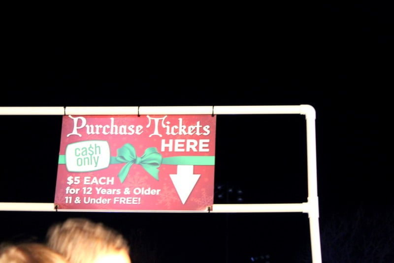 Winterfest of Lights OC MD Tickets $5