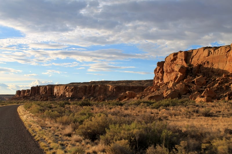 Chaco Culture Scenery