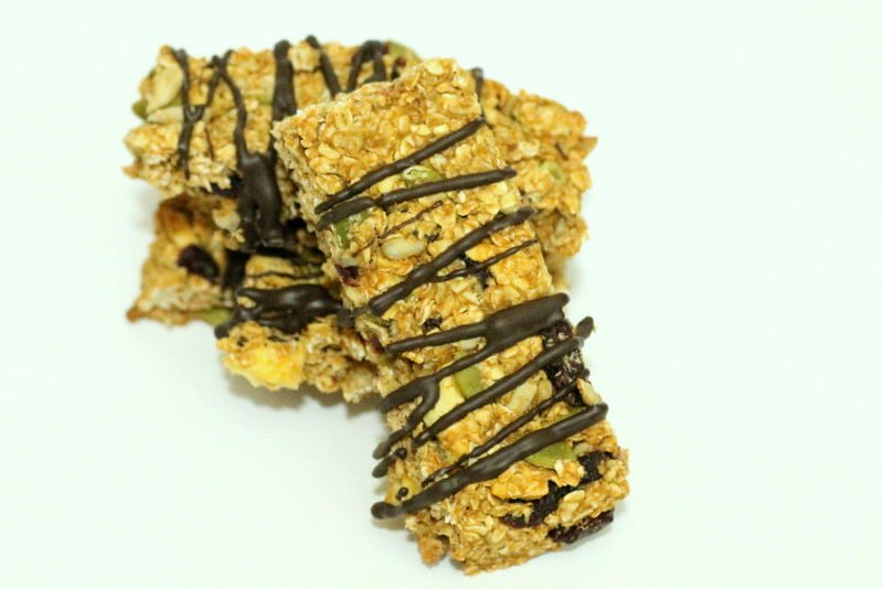 Homemade Peanut Butter Granola Bar Recipe