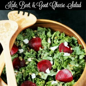 Kale Beet Goat Cheese Salad Side Bar