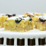 Meyer Lemon Blueberry Bars - A Delicious Lemon Bars Recipe
