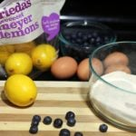 Meyer Lemon Blueberry Bars
