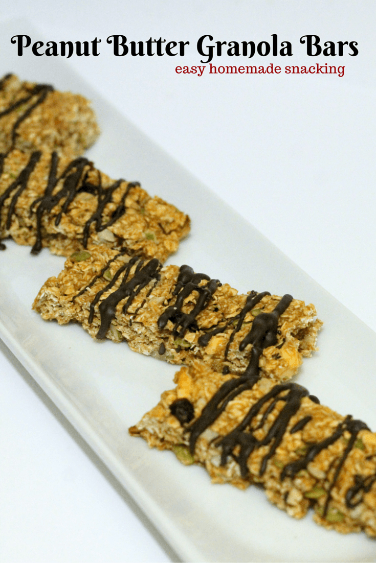 Peanut Butter Granola Bar Recipe - Easy Homemade Recipe