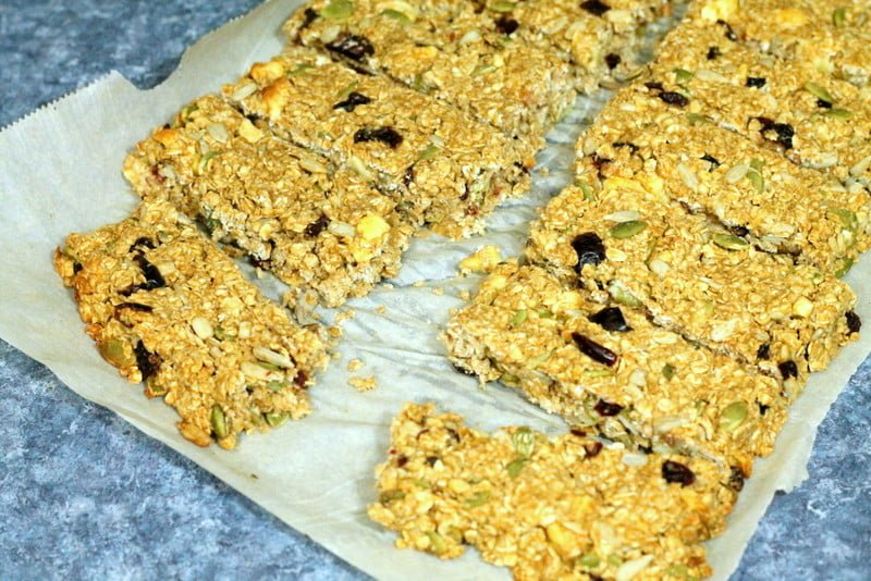 Peanut Butter Power Granola Bar Recipe Baked