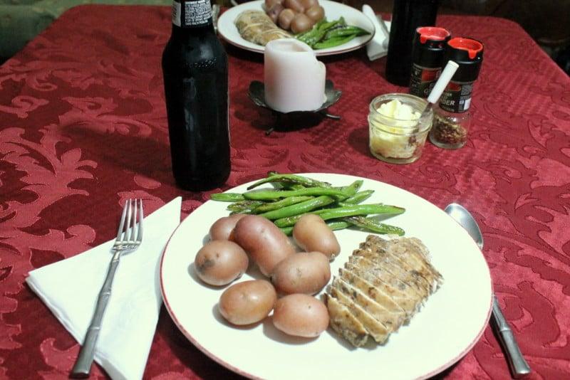 Fabulously Frugal Valentine's Dinner