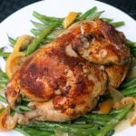 Slow Cooker Lemon Ginger Roast Chicken