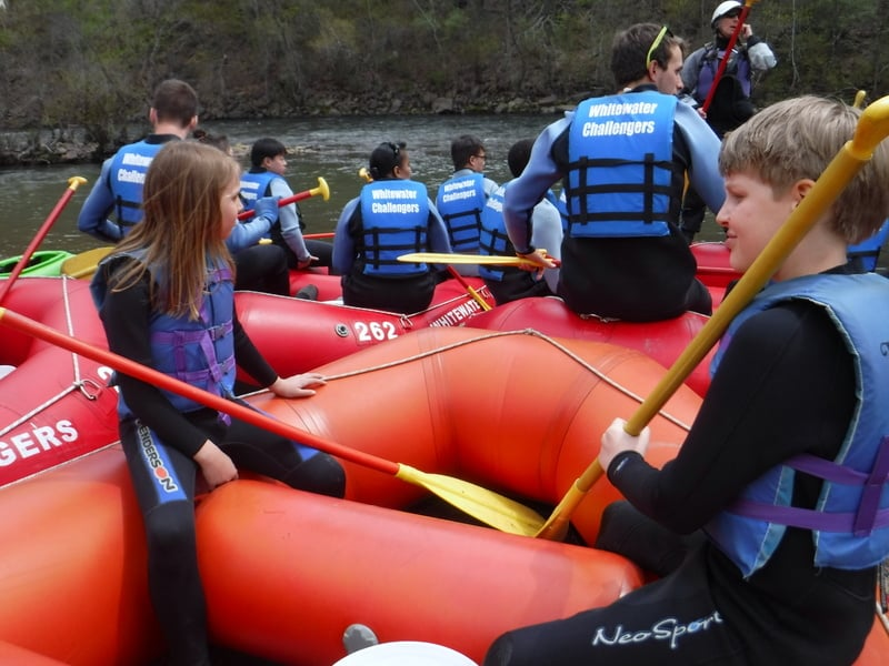 Whitewater Challengers Rafting Trip Poconos