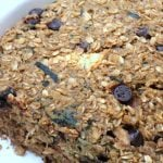 Zucchini Chocolate Chip Baked Oatmeal Recipe