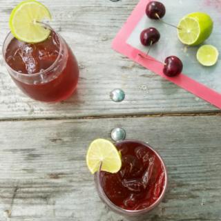 Cherry Lime Black Tea Recipe