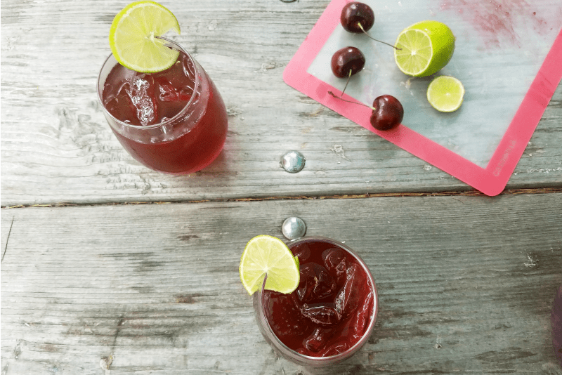 Cherry Lime Black Tea Recipe