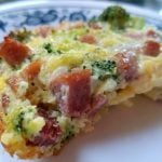 Ham and Broccoli Egg Bake