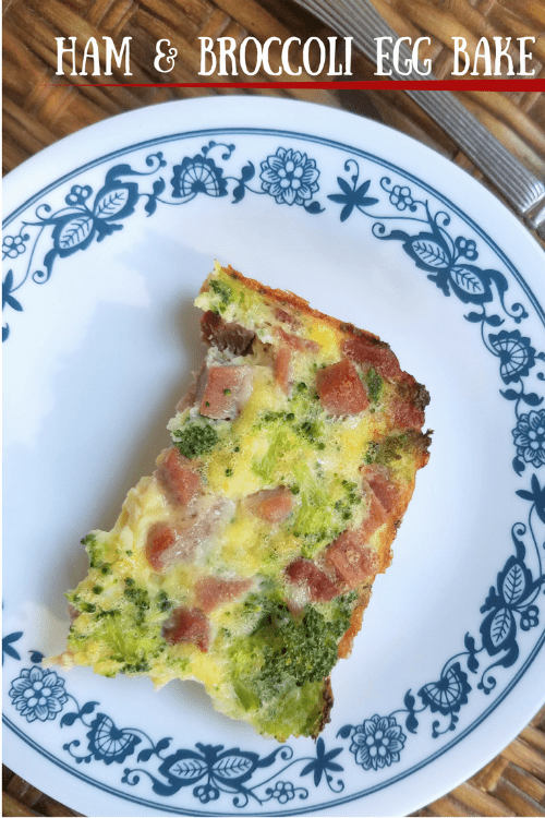 Ham and Broccoli Egg Bake Recipe