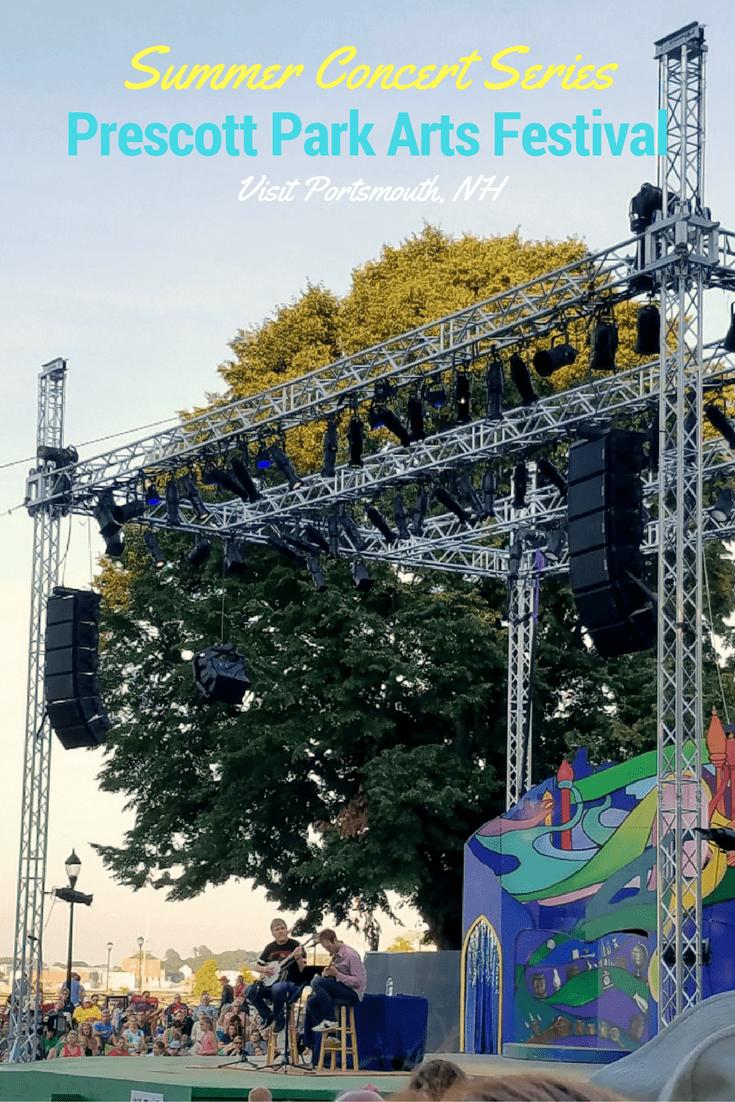 Summer Concert Series Prescott Park Arts Festival Portsmouth NH