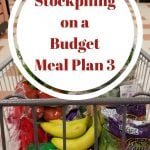 Building a Stockpile Meal Plan 3