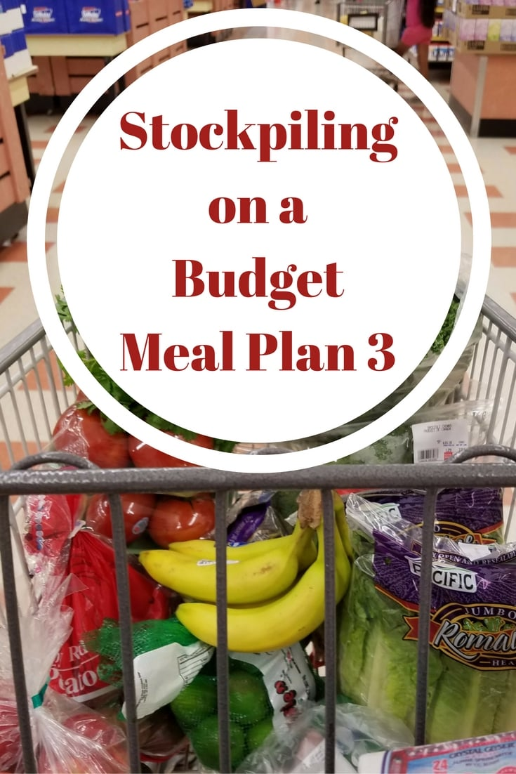 Stockpiling on a Budget Meal Plan 3