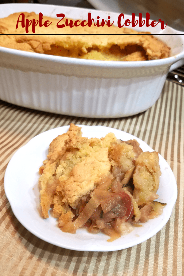 Apple Zucchini Cobbler Recipe