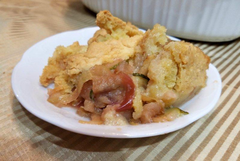 Apple Zucchini Cobbler