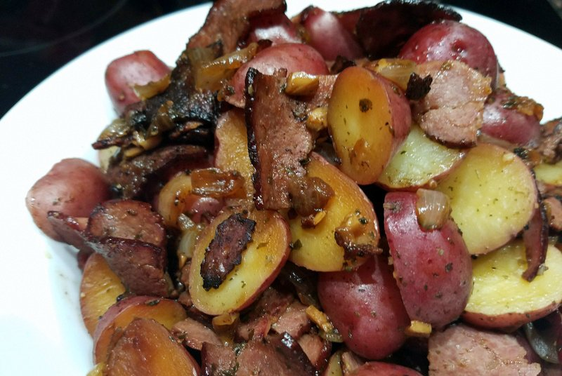 Balsamic Potatoes and Bacon Instant Pot Recipe