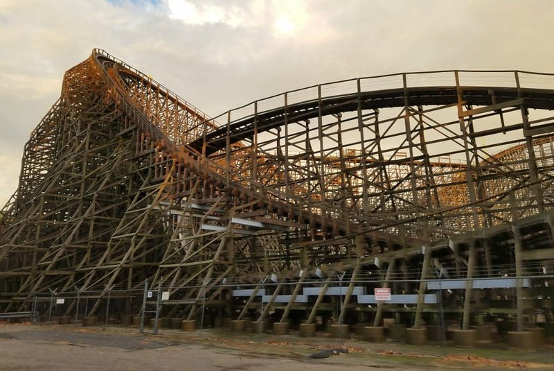 RTKB Travels cedar point park mean streak retired