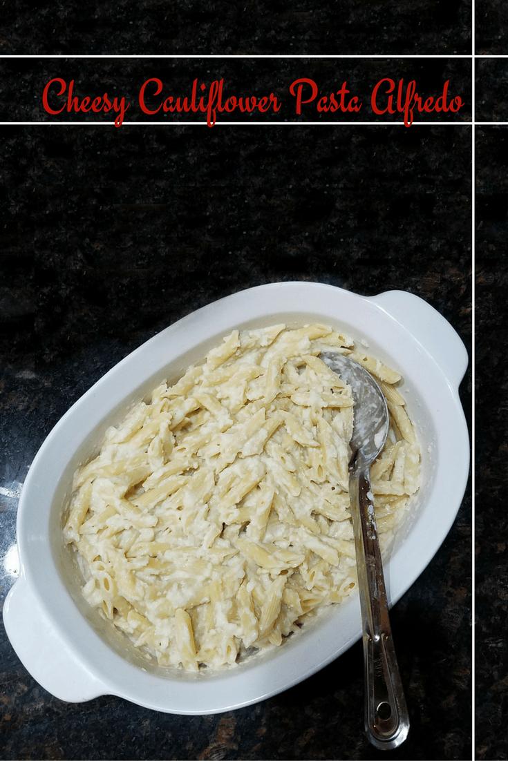 Cheesy Cauliflower Pasta Alfredo Recipe 4