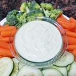 Secret Veggie Ranch Dip