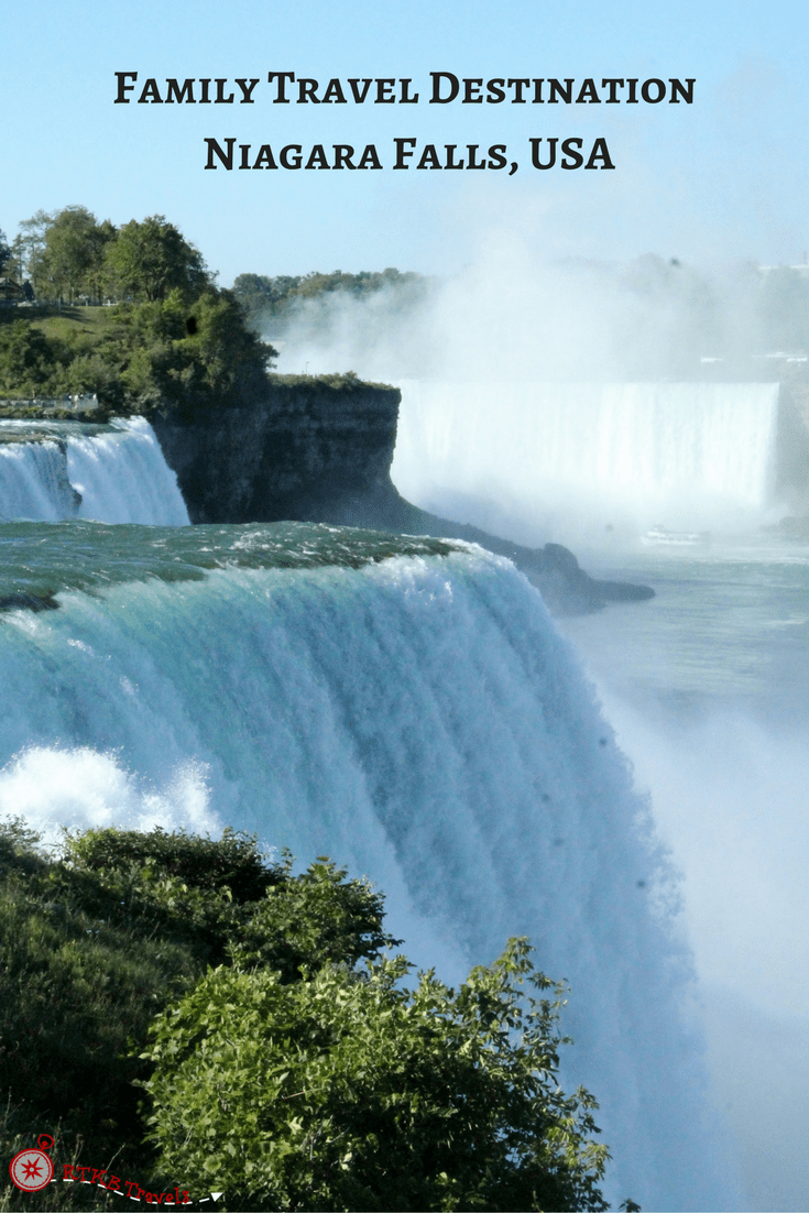 Niagara Falls Family Travel Destination: Niagara Falls