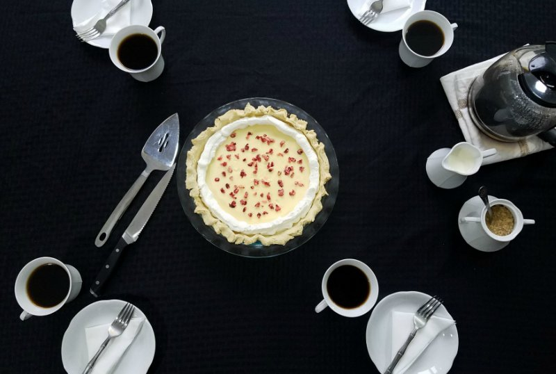 White Chocolate Cranberry Pie Recipe