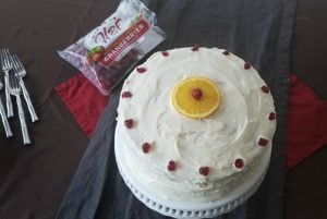 Cranberry Orange Cake - All Natural Cake Decor
