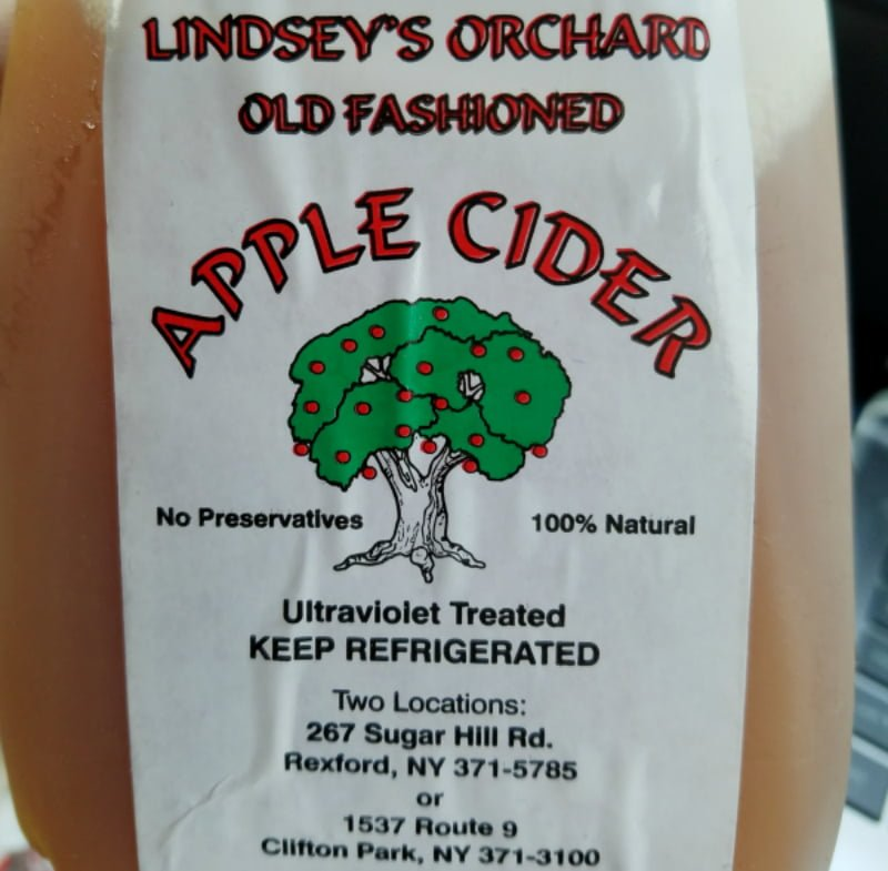 Lindsey's Country Store Apple Cider Clifton Park NY