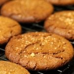 Molasses Ginger Cookies (Eggless)