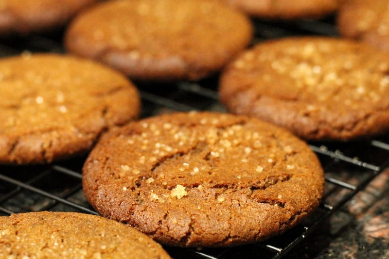 Image result for Eggless Ginger Cookies: