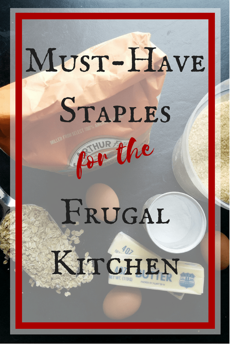 Must-Have Baking Staples for the Frugal Kitchen