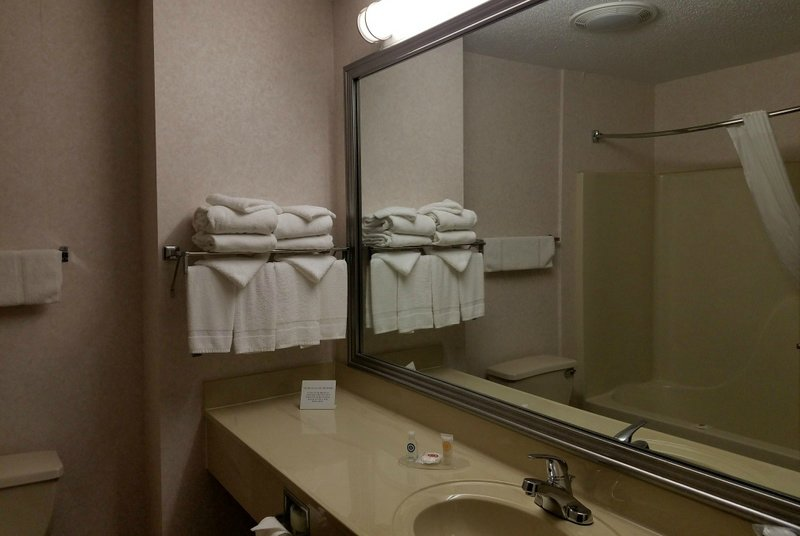 rtkb travels comfort inn batavia ny bathroom