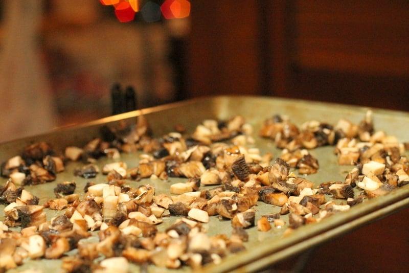 Roasted Mushroom Cheddar Bread Recipe Roasting Mushrooms