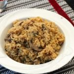Disappearing Eggplant and Lentil Rice