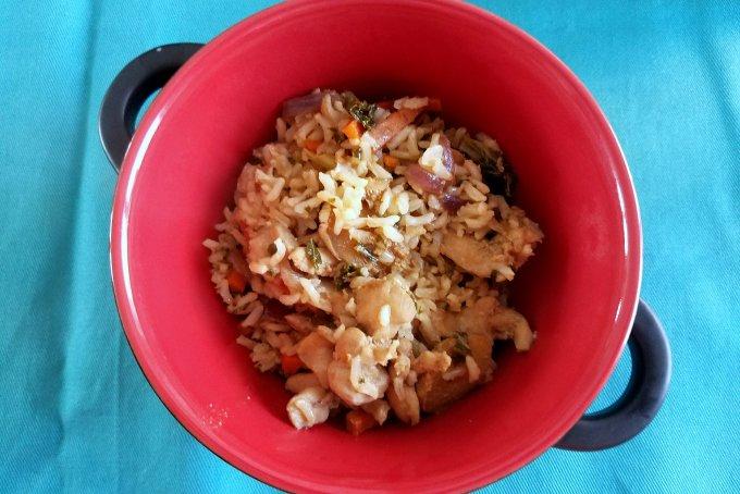Ginger Chicken Kale Recipe 2