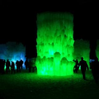 Ice Castle Lincoln New Hampshire
