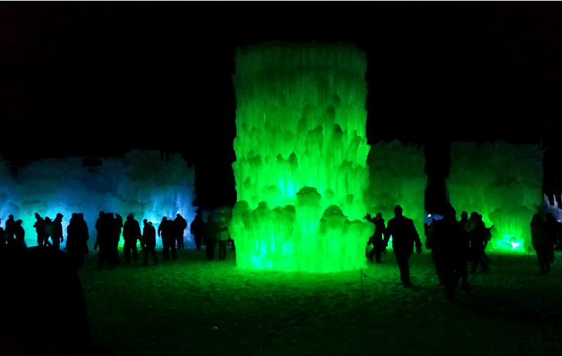 Ice Castle Lincoln New Hampshire