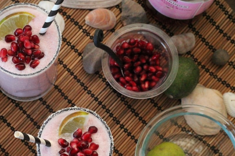 Pomegranate Coconut Creamsicle Cocktail Recipe 3