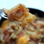 Baked Apples and Rutabaga fork full