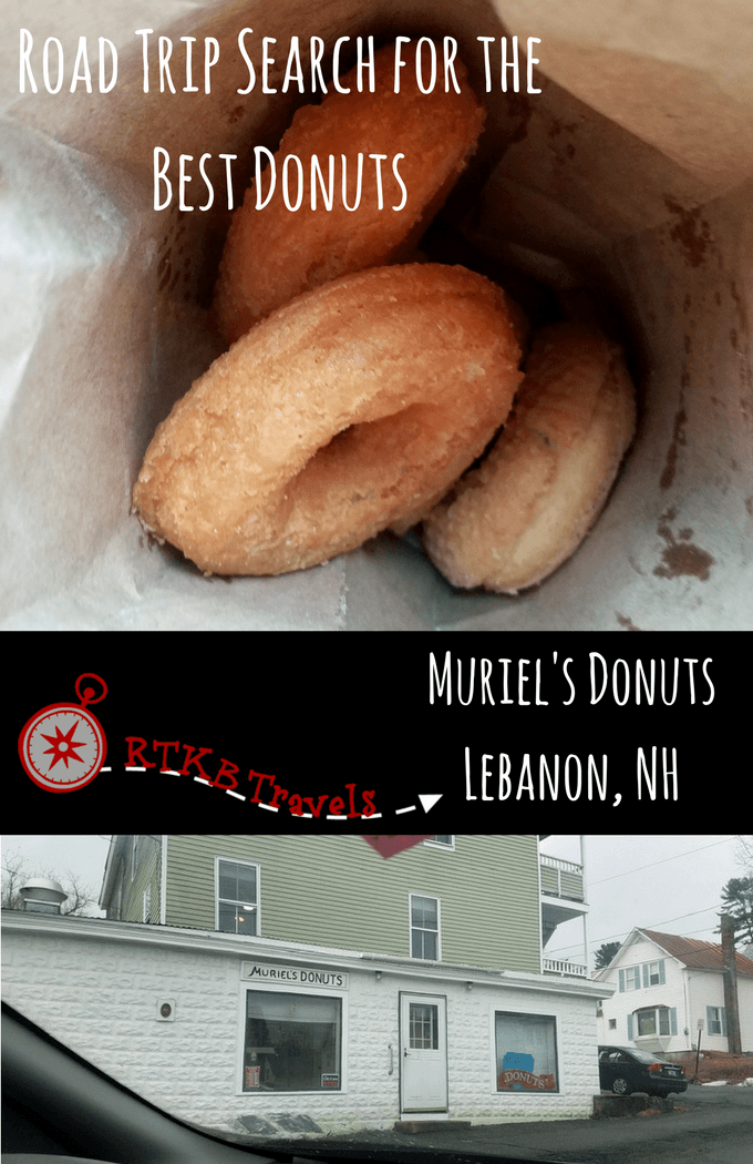 Muriel's Donuts Lebanon NH - best donut shops new hampshire