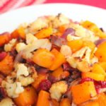 Spicy Sweet Roasted Butternut Squash and Cauliflower 3