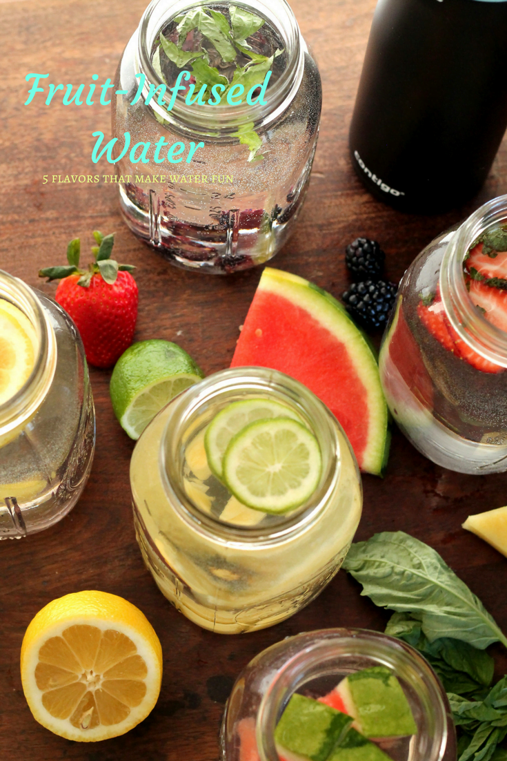 5 Fruit-Infused Water Combinations
