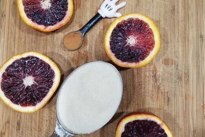 Blood Orange Cinnamon Sauce Ingredients